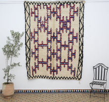 Load image into Gallery viewer, Beni Ouarain berber rug - BW 622 - 260x195 CM