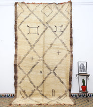 Load image into Gallery viewer, Beni Ouarain berber rug - BW 628 - 360x190 CM