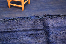 Load image into Gallery viewer, Beni Mguild blue berber rug - TB 125 - 355x190 CM