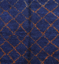 Load image into Gallery viewer, Beni Mguild blue berber rug - TB 200 - 335x225 CM