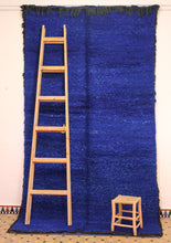 Load image into Gallery viewer, Beni Mguild blue berber rug - TB 317 - 370x200 CM