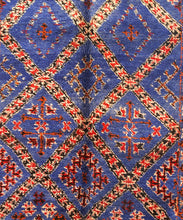 Load image into Gallery viewer, Beni Mguild blue berber rug - TB 321 - 345x200 CM