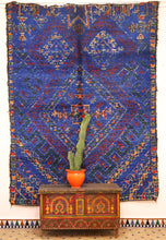 Load image into Gallery viewer, Beni Mguild blue berber rug - TB 401 - 270x200 CM