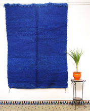 Load image into Gallery viewer, Beni Mguild blue berber rug - TB 408 - 260x180 CM
