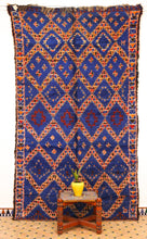 Load image into Gallery viewer, Beni Mguild blue berber rug - TB 409 - 320x180 CM