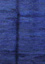 Load image into Gallery viewer, Beni Mguild blue berber rug - TB 411 - 365x155 CM