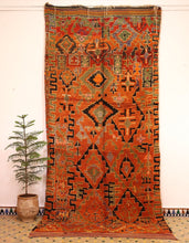 Load image into Gallery viewer, Talssinte berber rug - TLS 301 - 385x170 CM