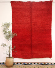 Load image into Gallery viewer, Beni Mguild red berber rug N° TR 38 275*190 cm