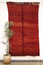 Load image into Gallery viewer, Beni Mguild red berber rug - TR 82 - 275x155 CM