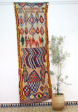 Load image into Gallery viewer, Boujaad berber rug - BJD 1A - 290x95 CM