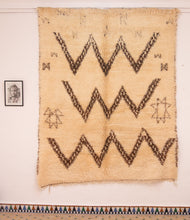 Load image into Gallery viewer, Beni Ouarain berber rug N° BW 264