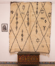 Load image into Gallery viewer, Beni Ouarain berber rug - BW 466 - 240x200 CM