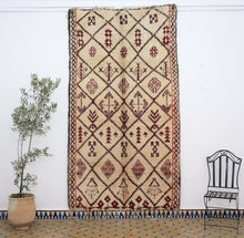 Load image into Gallery viewer, Beni Ouarain berber rug - BW 656 - 295x160 CM