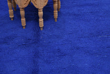 Load image into Gallery viewer, Beni Mguild blue berber rug - TB 129 - 275x135 CM