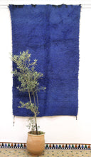 Load image into Gallery viewer, Anthique Beni Mguild premium blue rug - Tb 151 - 235x140 CM
