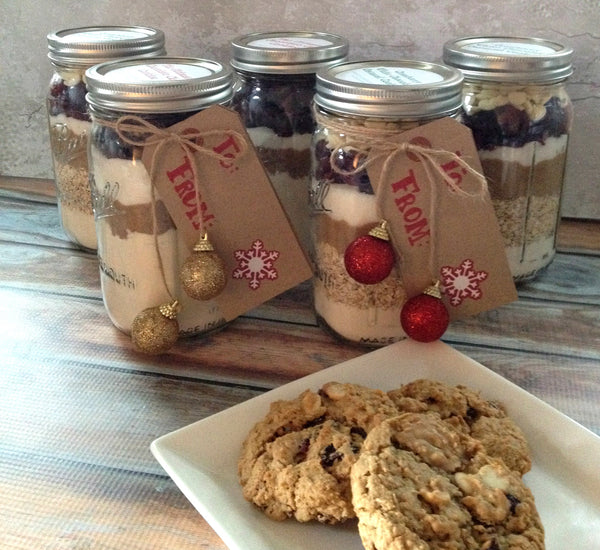 Mason Jar Cookie Mix   2/$20!