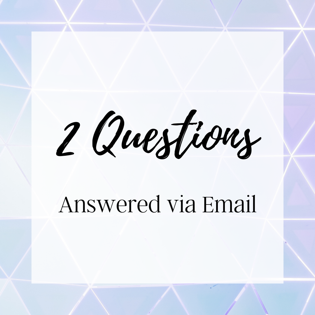 2 Questions Email Reading