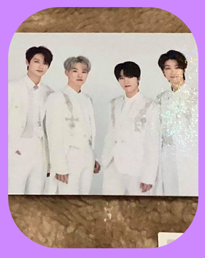 Dance Team - White suit Holographic Trading Cards