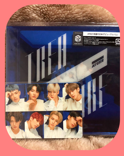 Group - Shift the Map Type A Album w/ Photocard