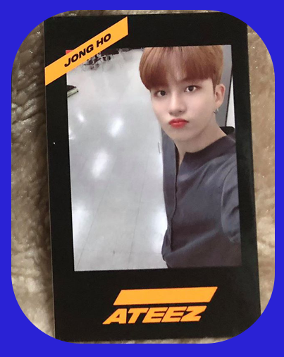 Jongho - Photocards