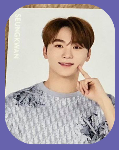Seungkwan - Trading cards (Casual Version)