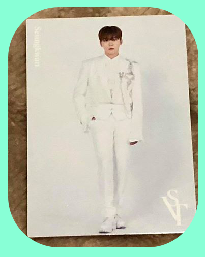 Seungkwan - White-suit Trading Cards