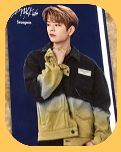 Seungmin - Tower Records Photocard
