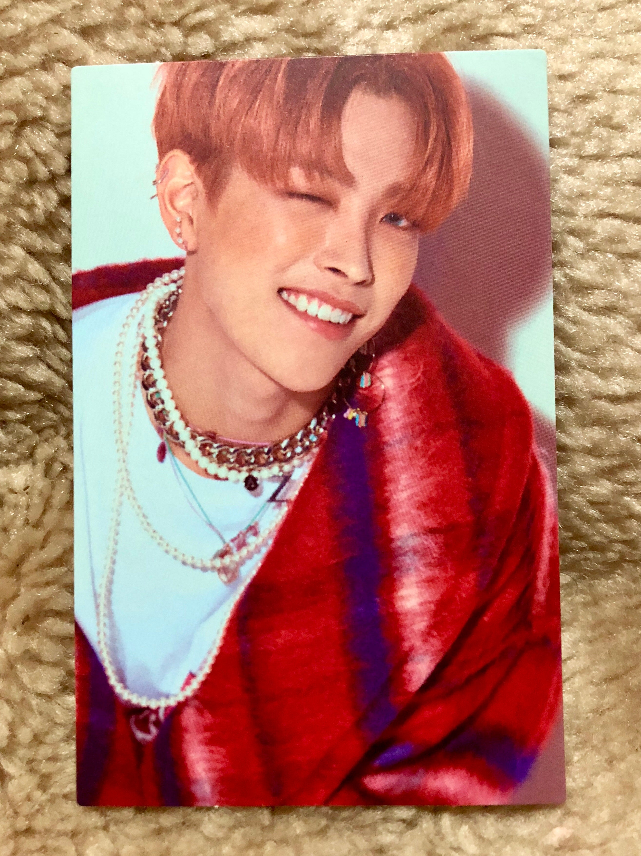 Hongjoong Ep3 Illusion MMT Photocard