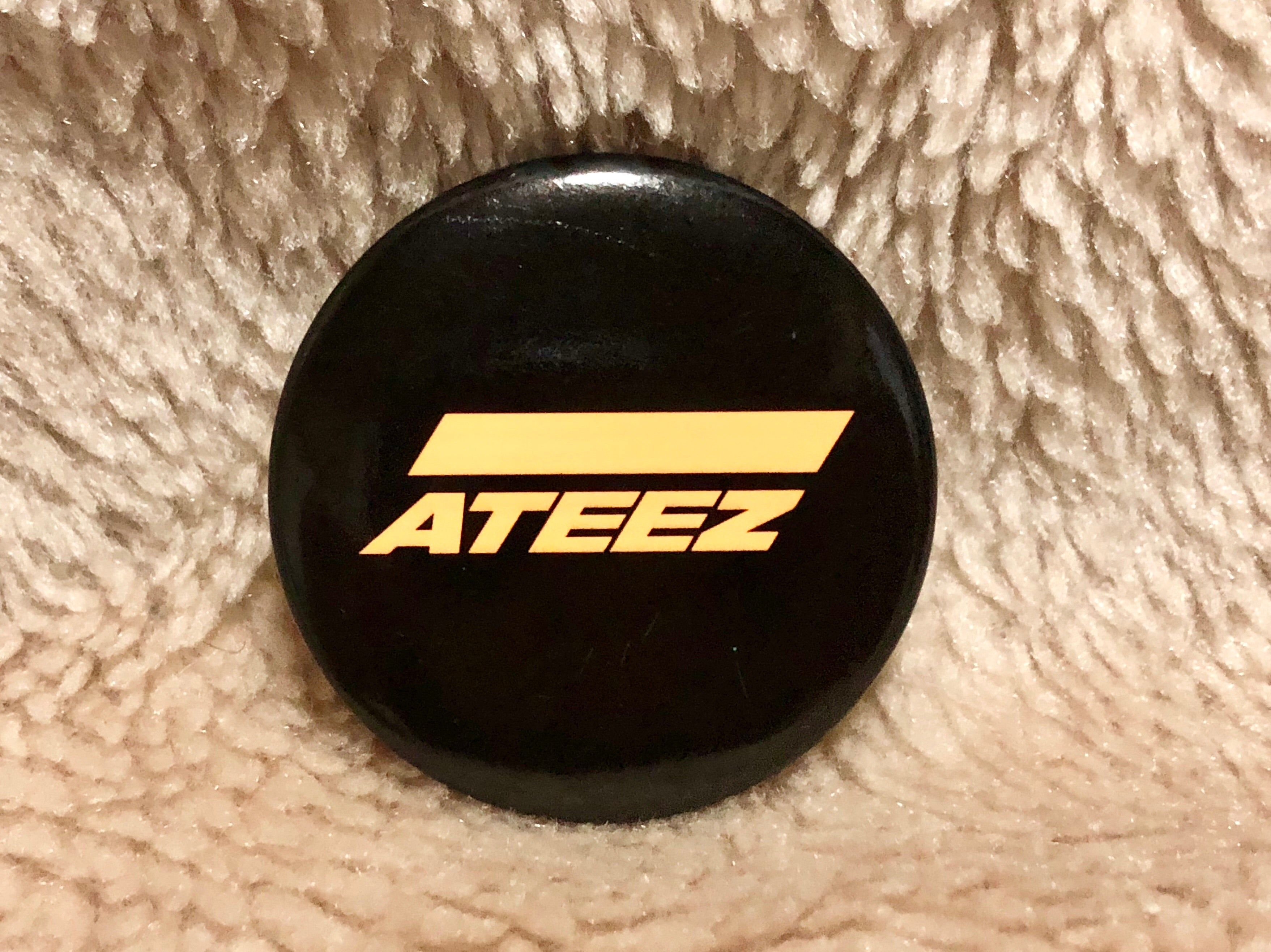 Ateez Japan Pre-debut Can Badge