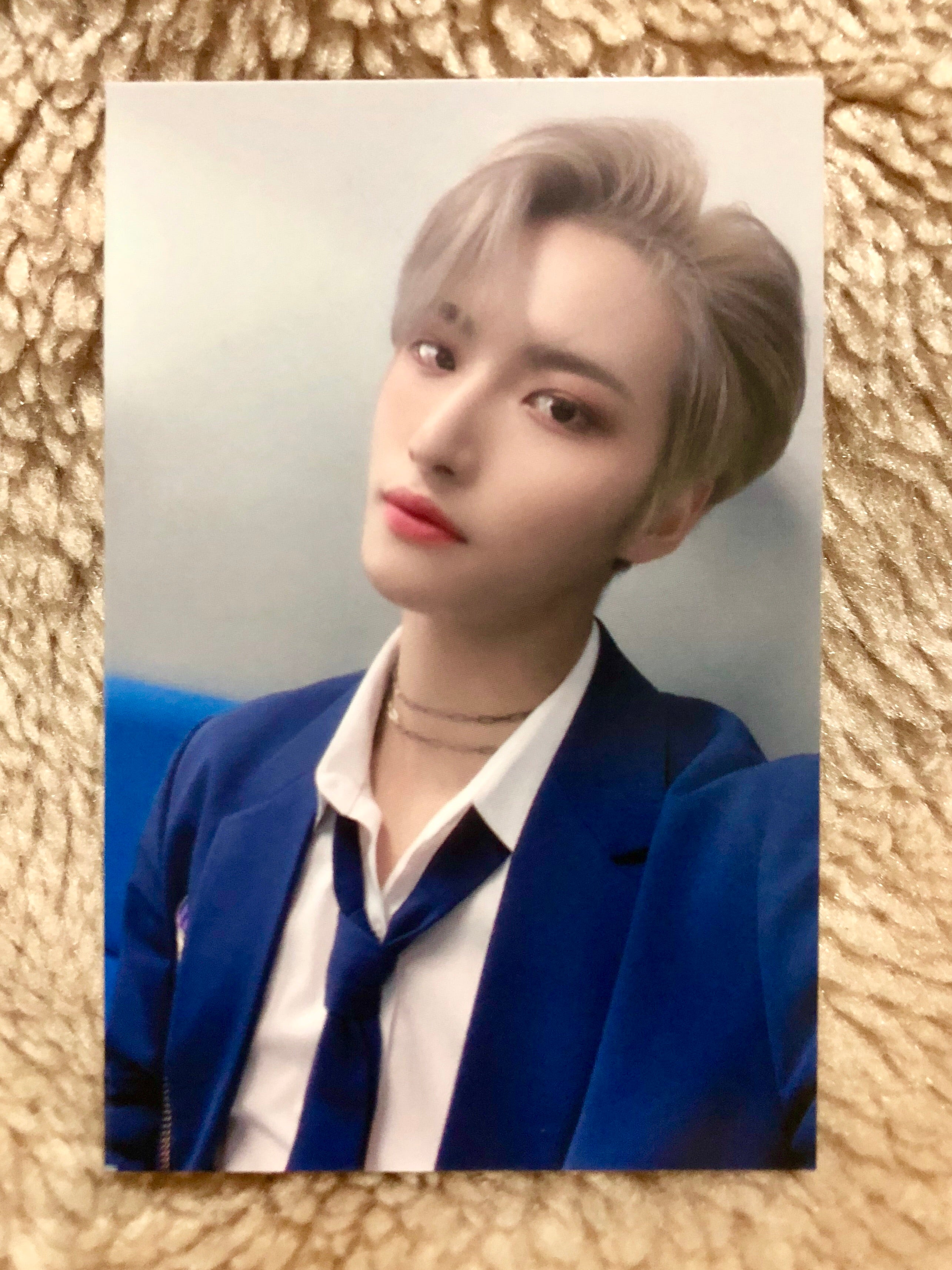Seonghwa MMT Fansign Photocard