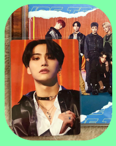 Seonghwa -  Shift the Map Type Z Album w/ Photocard