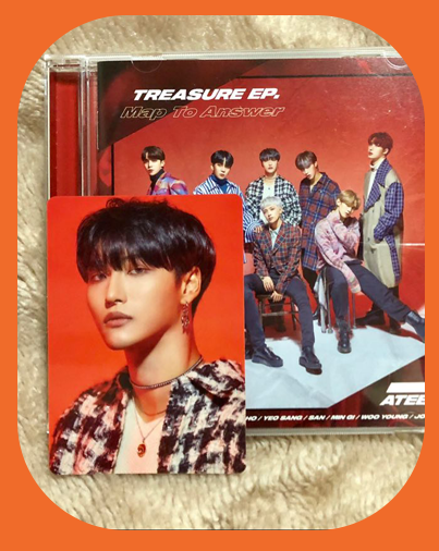 Seonghwa -  Map to Answer Type Z Album w/ Photocard