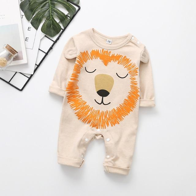 Peaceful Lion Romper