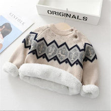 Load image into Gallery viewer, Thick Cozy Velvet Winter Sweater - Bombibib