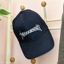 Load image into Gallery viewer, NEW Moooorning Navy Baseball Cap