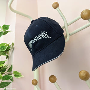 NEW Moooorning Navy Baseball Cap