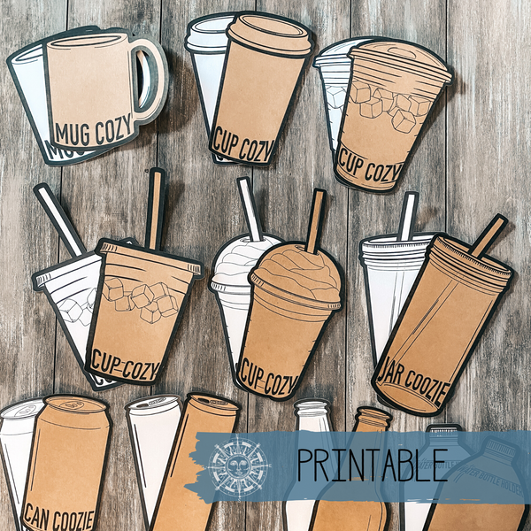 Printable - Beverage Tag Collection