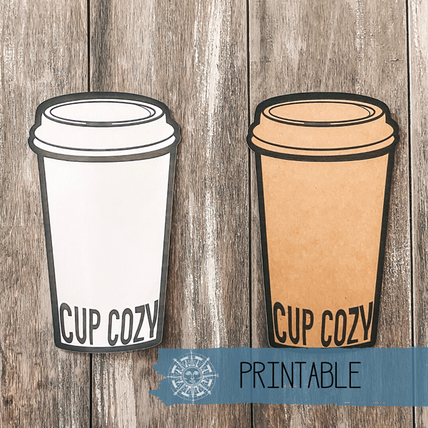 Printable - Hot Coffee Tag