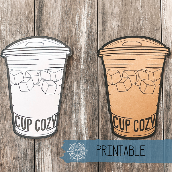 Printable - Cold Coffee Sip Tag