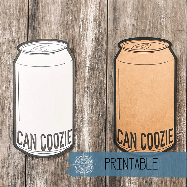 Printable - 12 oz. Can Tag