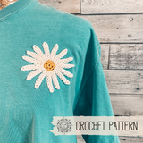Daisy Applique - Crochet Pattern