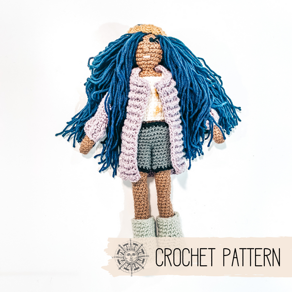 Rainy Day Outfit - Heirloom Doll - Crochet Pattern