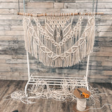 Honeycomb Macrame Wall Hanging - Macrame Pattern