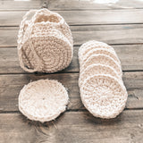 Reusable Face Wipe Set - Crochet Pattern