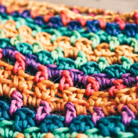Reggae Hair Wrap - Crochet Pattern