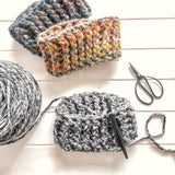 Alpine Ridge Earwarmer + Hat - Crochet Pattern