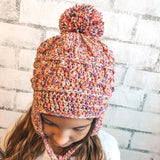Cloudland Chullo - Crochet Pattern