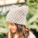 Bobble Cat Hat - Crochet Pattern