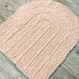 Rainbow Baby Blanket - Crochet Pattern