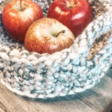 Harvest Table Basket - Crochet Pattern